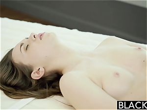 BLACKED Tali Dovas bf Lets her try A thick black trouser snake