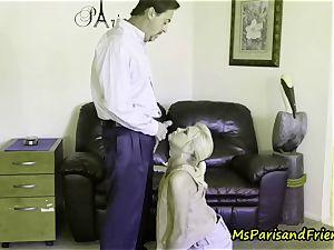 Ms Paris enjoys Her Creampies and Facials