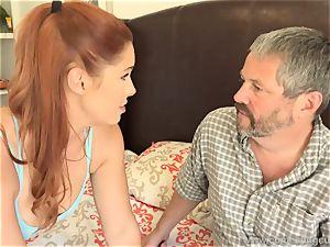 Edyn Blair plumbed By humungous black spear spouse observes