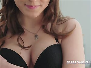 magnificent Evelina Darling gets screwed in lingerie