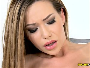 kinky Russian stunner Subil arch nailed deep in her tasty kiska pudding