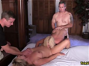 gang penetrate the Stripper with Ms Paris Rose