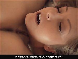 A female KNOWS - ultra-cutie Jimena Lago luvs lesbo pummel