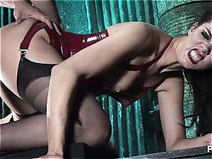 super steamy fetish 3some