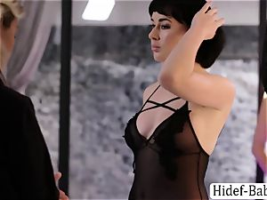 2 greatest Anissa Kate and Olive Glass models likes gobbling their pussies
