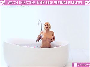 hot blondie Alix Lynx cought by beau tugging