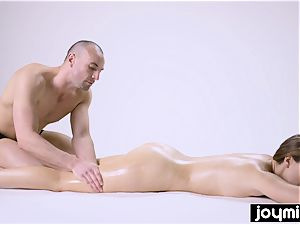 Zoe chick caressed and filled with glad internal cumshot completing