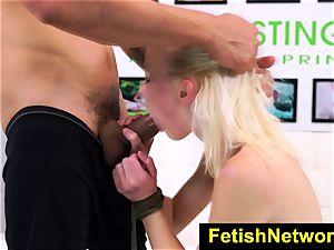 FetishNetwork Maddy Rose bondage audition