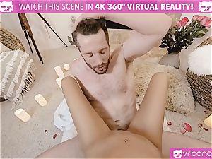 VR pornography - Thanksgiving Dinner becomes crazy pummeling