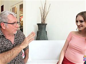 PervCity ass fucking tramp Maya Kendrick entices aged teacher