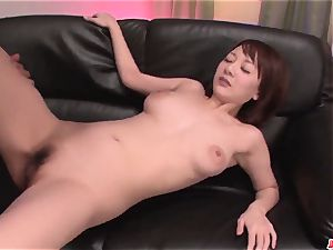 Arisa Araki amazing jugs play and home orgy in point of view