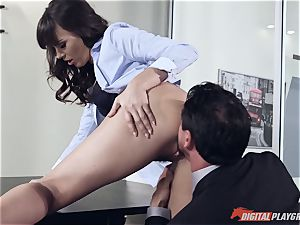 Dana DeArmond and Tommy Gunn screwing in the office