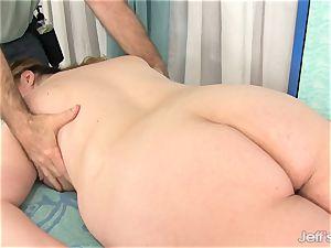 bbw Gets Her body, gash and ass massaged