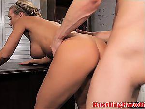 Nicole seducing some random stud