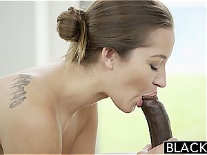 Darling Dani Daniels prepped to attempt out a black wood inwards her