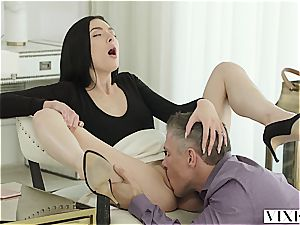 Marley Brinx has an extramarital adventure with her chief Mick