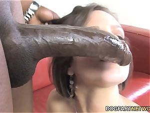 bbc hoe Bobbi Starr Wants ass fucking sex With demonstrate dark-skinned