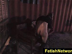 FetishNetwork Goldie alley firm restrain bondage