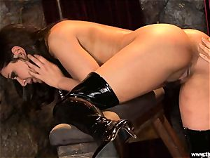 Alluring Charley pursue gets plaything drilled by Lisa Ann