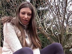 QUEST FOR climax - warm Ukrainian stunner frigs herself