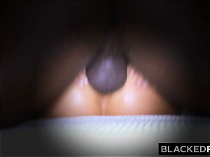 BLACKEDRAW wifey likes his thick black sausage a little too much