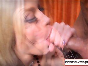 FirstClassPOV - watch Ash Hollywood inhaling a ample shaft