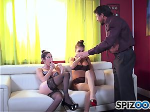 Dava Foxx caught with smoking sizzling Jessica Jaymes