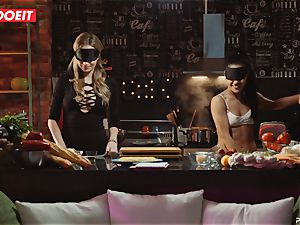 LETSDOEIT - hump Cooking With babes Apolonia and Angel