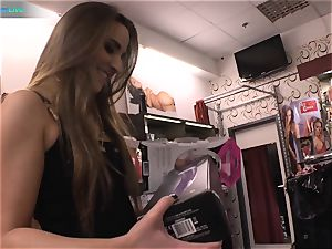 excellent beauty Amirah Adara and tatted lady Misha Cross plays with their dildos
