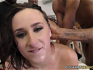 Ashley Adams Gets Her Face violently pummeled by BBCs