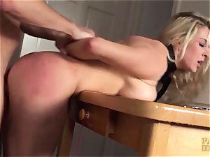 PASCALSSUBSLUTS - Victoria Summers fed cum and bondage & discipline
