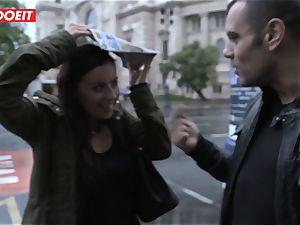 LETSDOEIT - kinky French female Gets boinked In Budapest