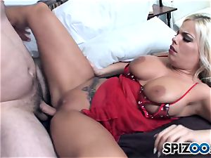 Britney Amber loves some humungous enormous hard-on in her saucy bootie