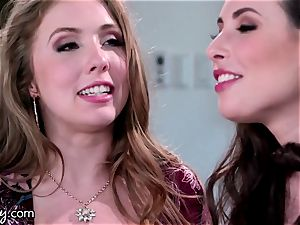 Girlsway stunners Lena Paul