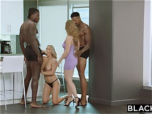 BLACKED My hottest buddy introduced me to big black cock