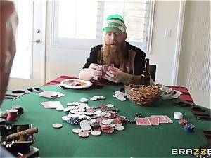 Sarah Jessie fuckin' her husbands poker acquaintance