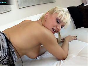 super-fucking-hot ash-blonde Lea Lexis memorable point of view intercourse episodes