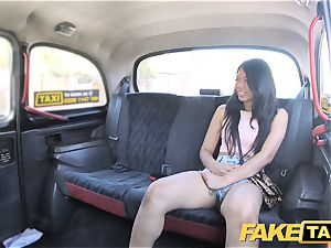 fake cab wonderful Thai female with pierced vagina lips