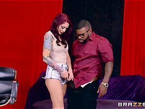 Monique Alexander getting her tastey vulva banged by a ebony pecker