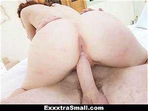 ExxxtraSmall - diminutive Alice Green's fuckbox drilling!