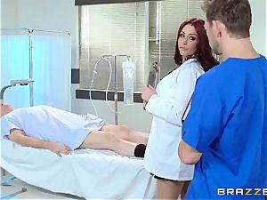 stunning doc Monique Alexander penetrates her trainee