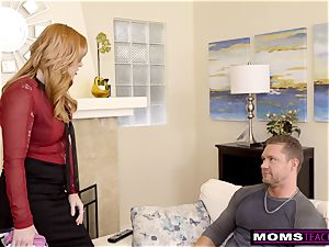 mom Helps daughter instruct Step bro A Lesson S9:E9