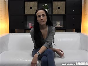 huge-chested ass fucking queen Was Born on The milky sofa