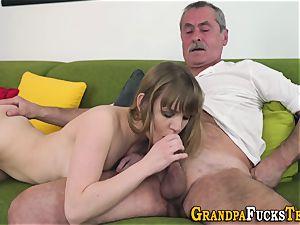 nubile deepthroats older granddaddy