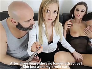 LOS CONSOLADORES - hot swinger four way with steamy babes
