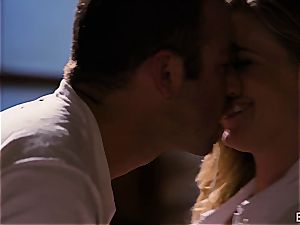 Mona Wales has a romantic enjoy session with her stunning stud