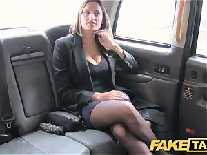fake taxi sizzling huge-boobed stunner gets gigantic jizz shot