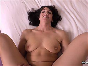 virginal dark-haired milf hotwife creampie wish