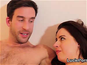 Apprentice lezzy nymphs get their open up cootchies munched and railed