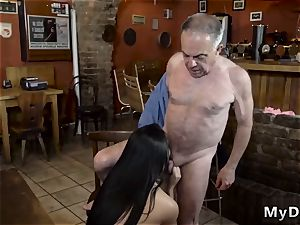 elder dame flick hardcore Can you trust your girlpatron leaving her alone with your daddy?